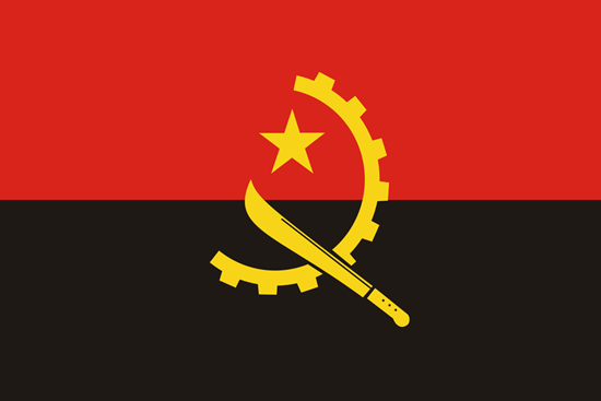 Flag of Angola and Washington DC 888 Craft Beers