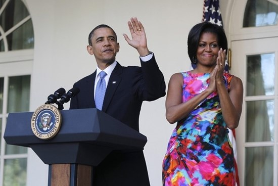 President Obama and First Lady Michelle