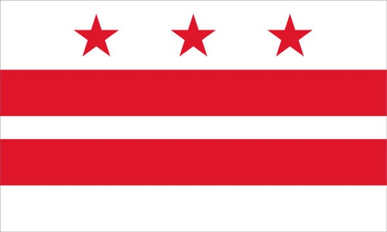 888 Craft Beers and Washington DC flag